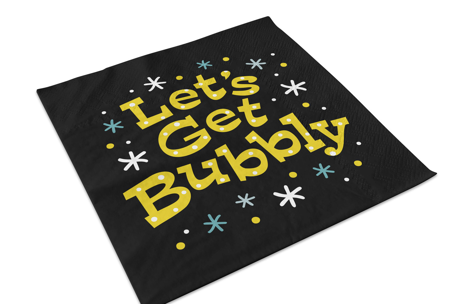New Years SVG, Lets Get Bubbly SVG, SVG Cut file example image 2