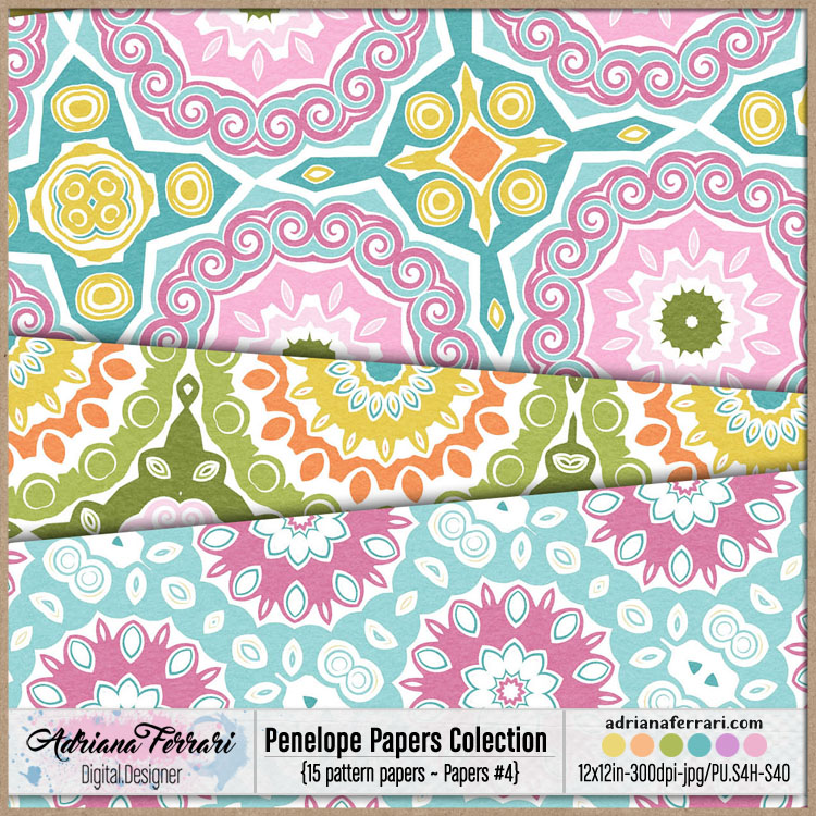 Penelope Papers Colection 4 example image 3