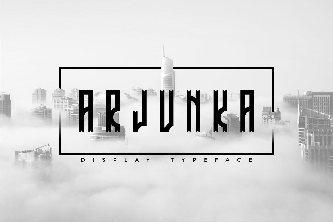 Arjunka Typeface example image 1