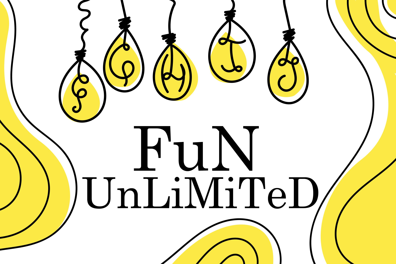 Bulb Font - A Cute Hanging Bulb Font example image 3
