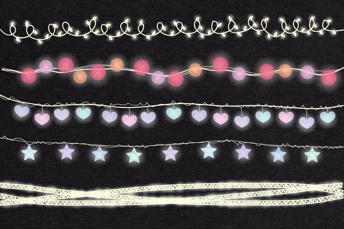 String Lights Clip art example image 4