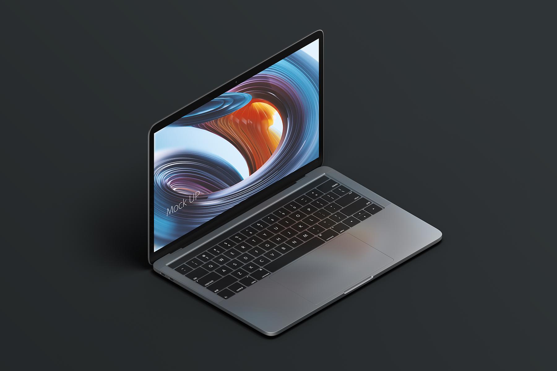 Macbook PRO Creative Mockup example image 9