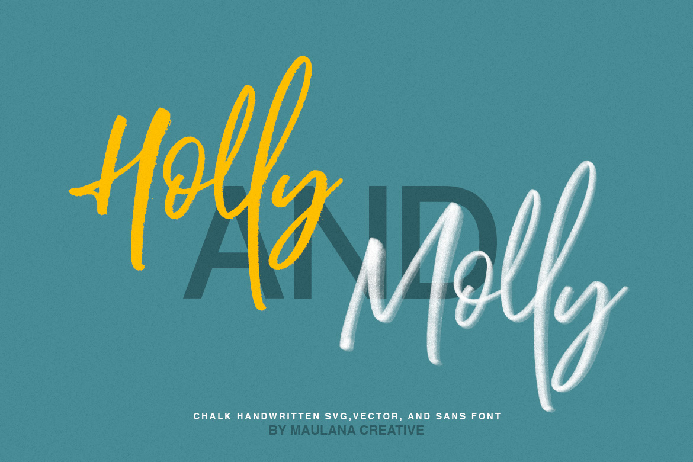 Brotthers - SVG Brush Free Sans Font example image 6
