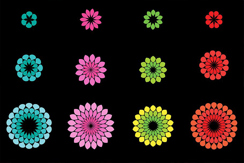 Flower Petal Brushes example image 4