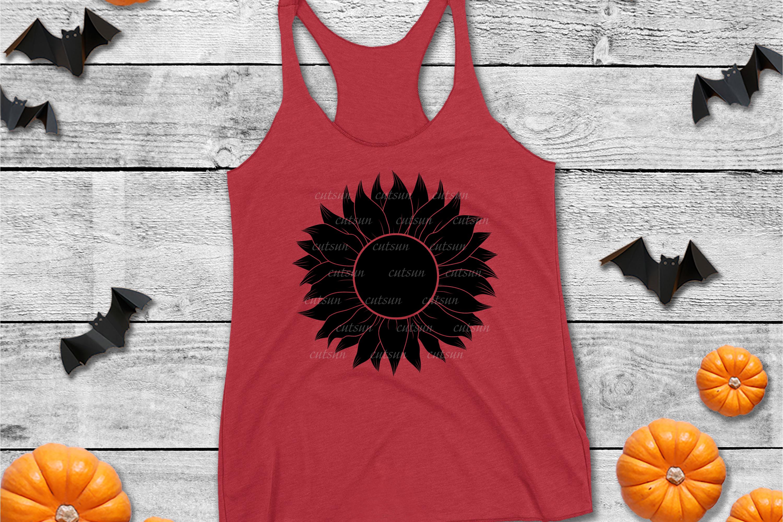Sunflower SVG bundle   Floral bundle SVG example image 9