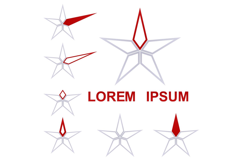 105 star logo designs (EPS, AI, SVG, JPG 4800x4800) example image 2