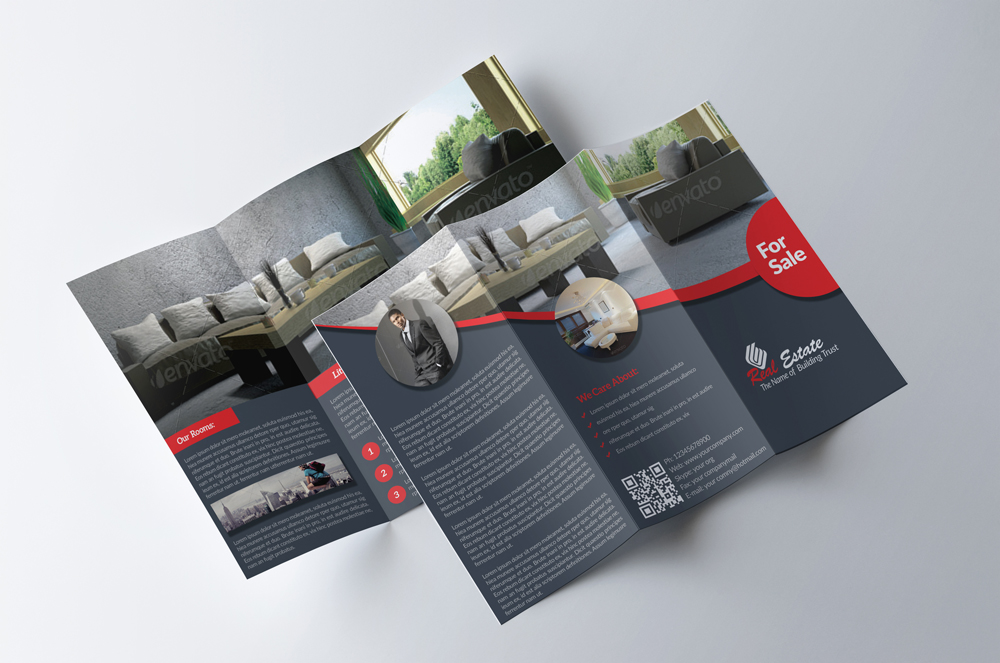 Real Estate Trifold Brochure example image 3