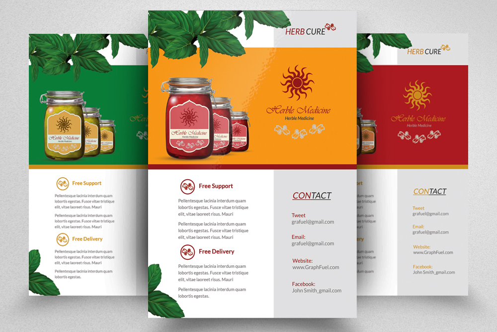 6 Products Promotion Flyers Bundles example image 3