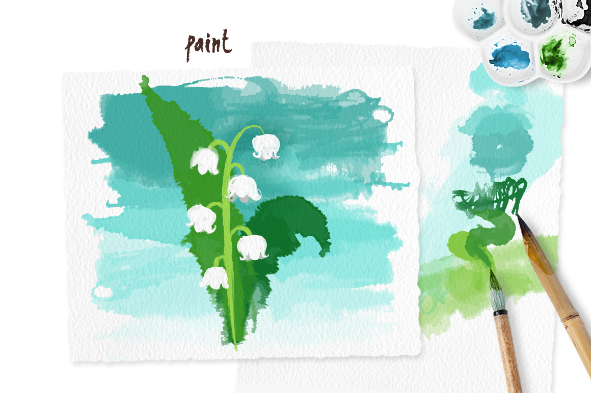 Scribble Brushes for Illustrator example image 4