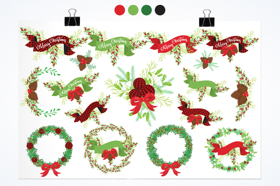 Merry Christmas graphic and illustrations example image 4