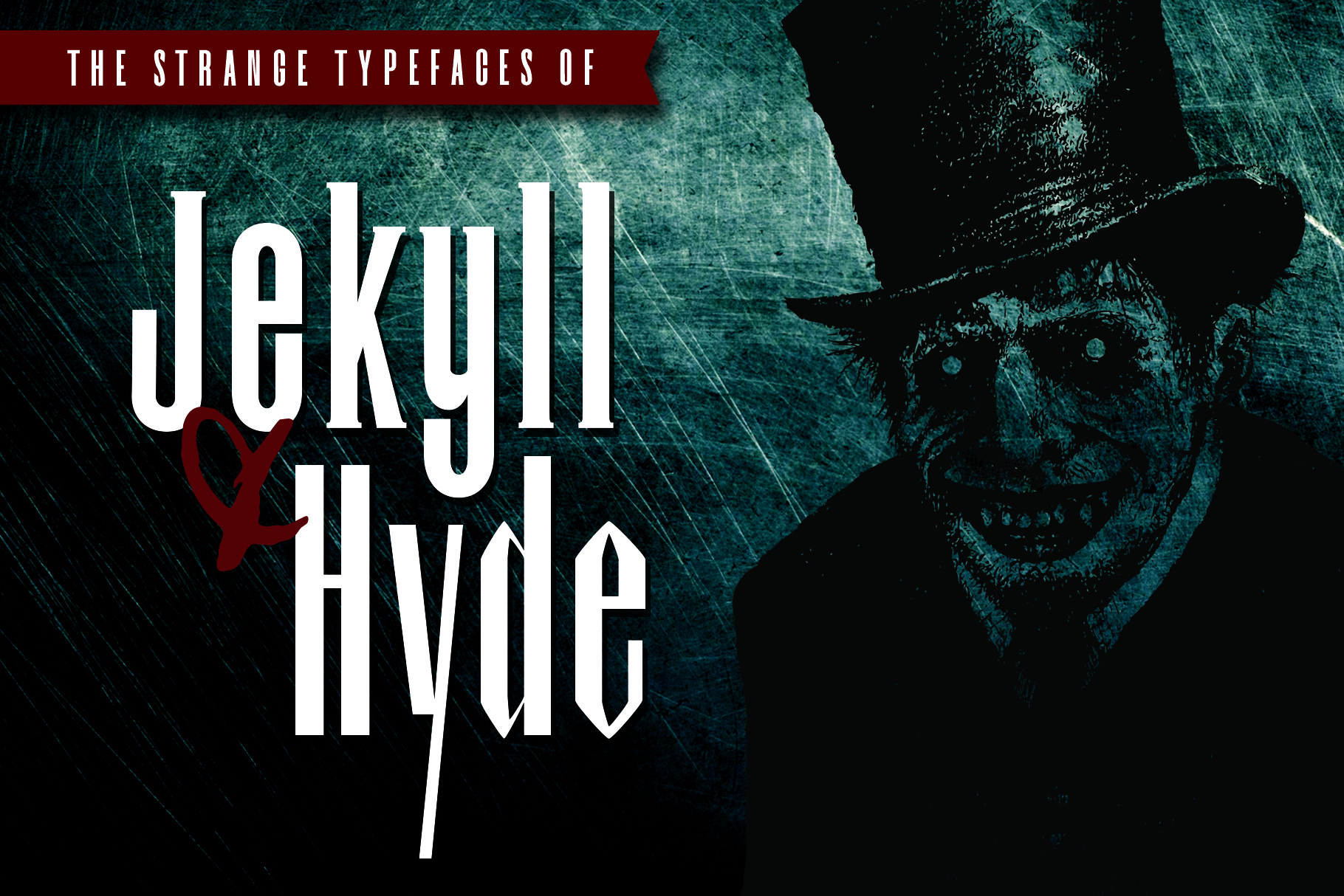 Dr.Jekyll & Mr.Hyde Typeface Duo example image 1