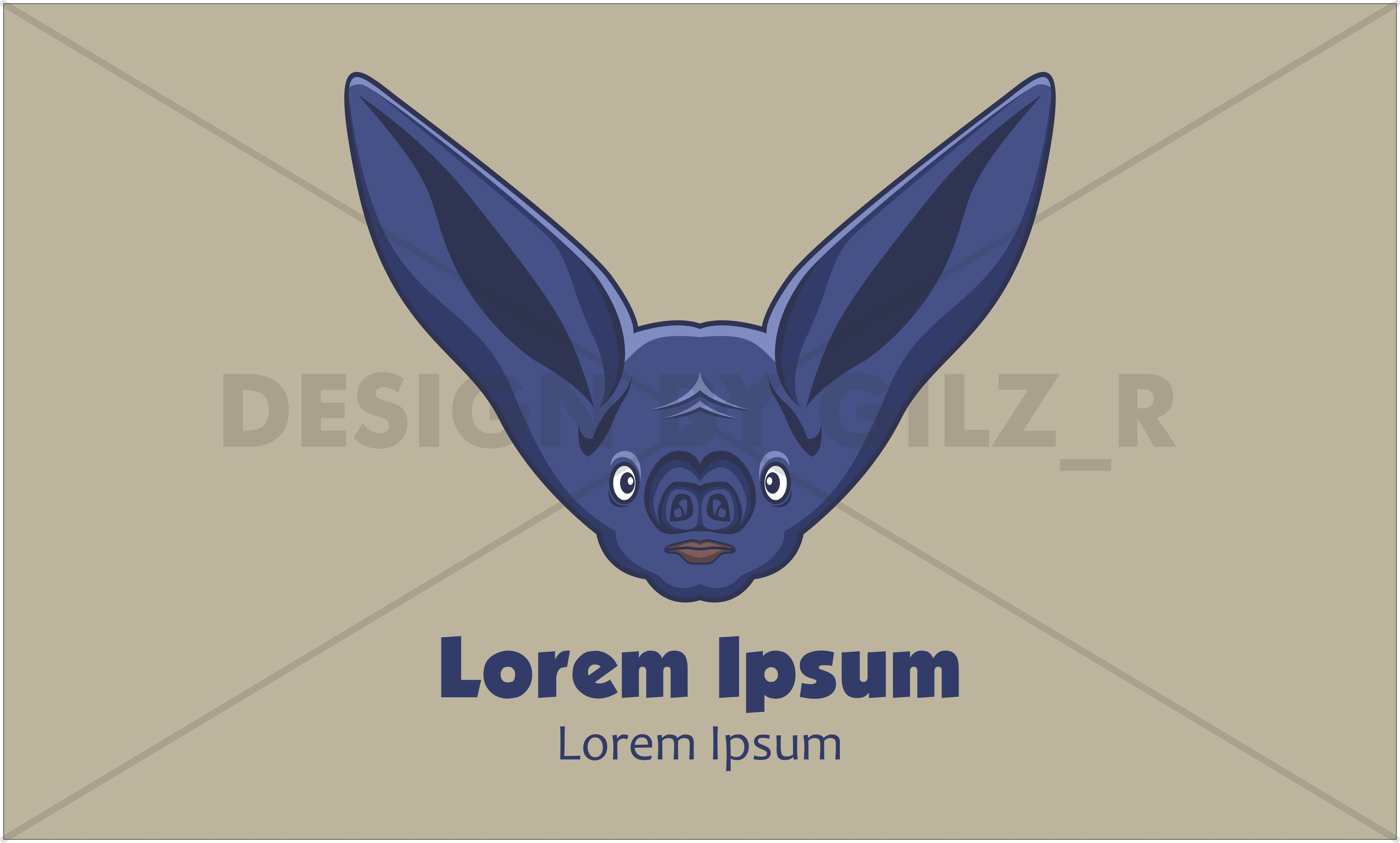 Bat Logo Design and Concept in Modern Style example image 1