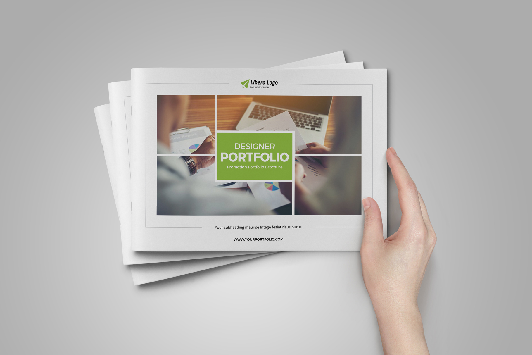 Portfolio Brochure Design v5 example image 15