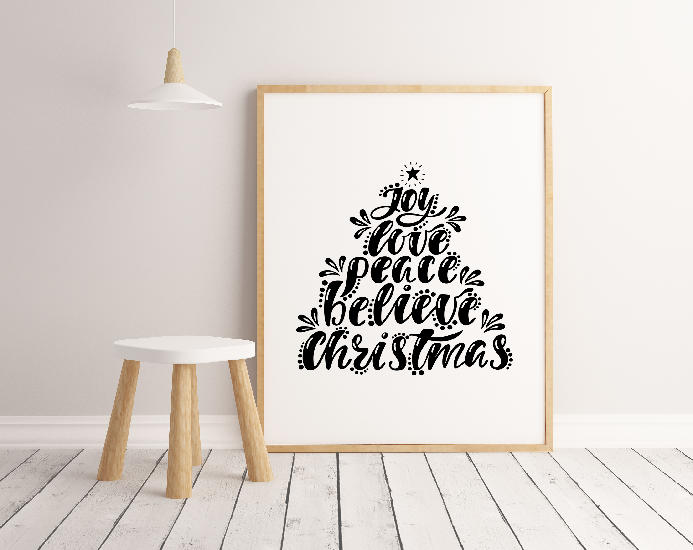 Christmas SVG Bundle. Holiday vector clipart. Cutting Files. example image 7