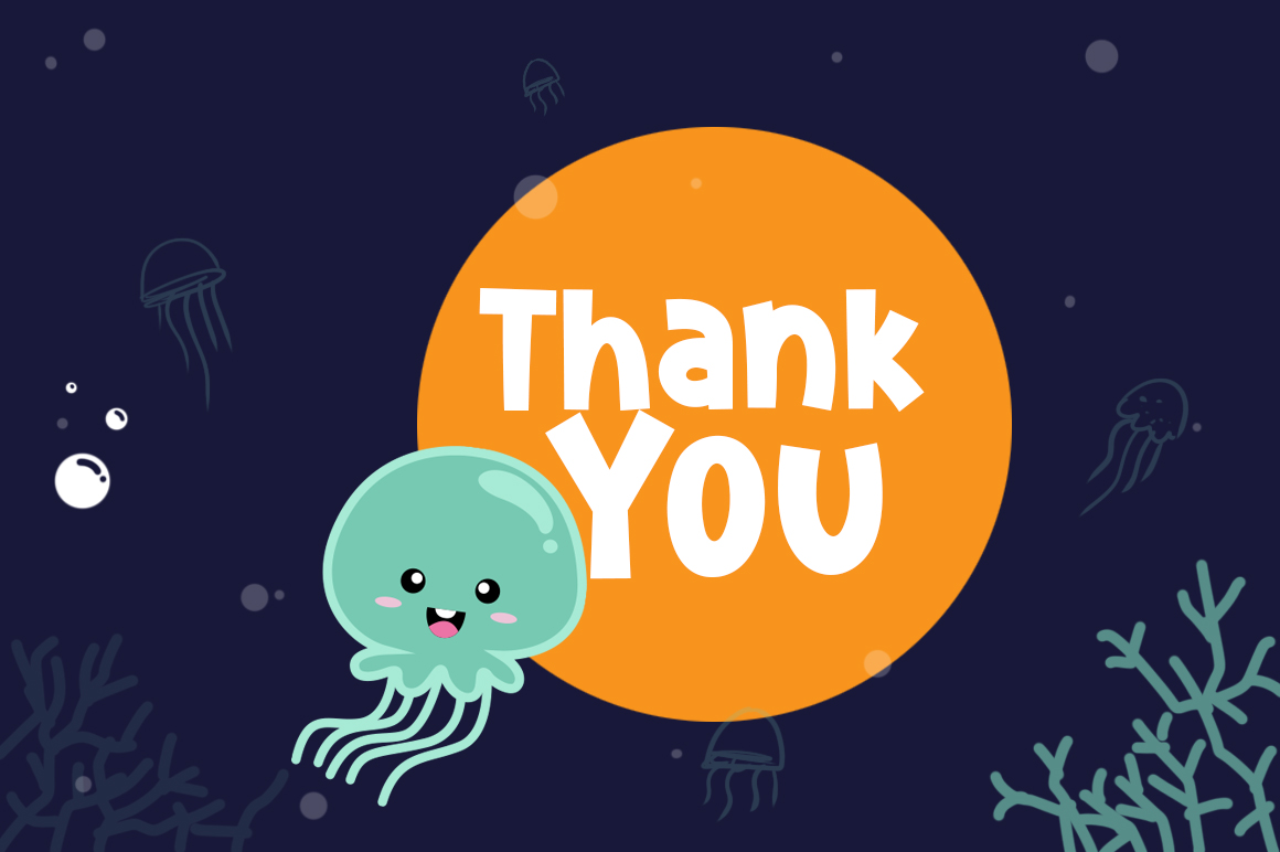 Cute Jellyfish example image 8