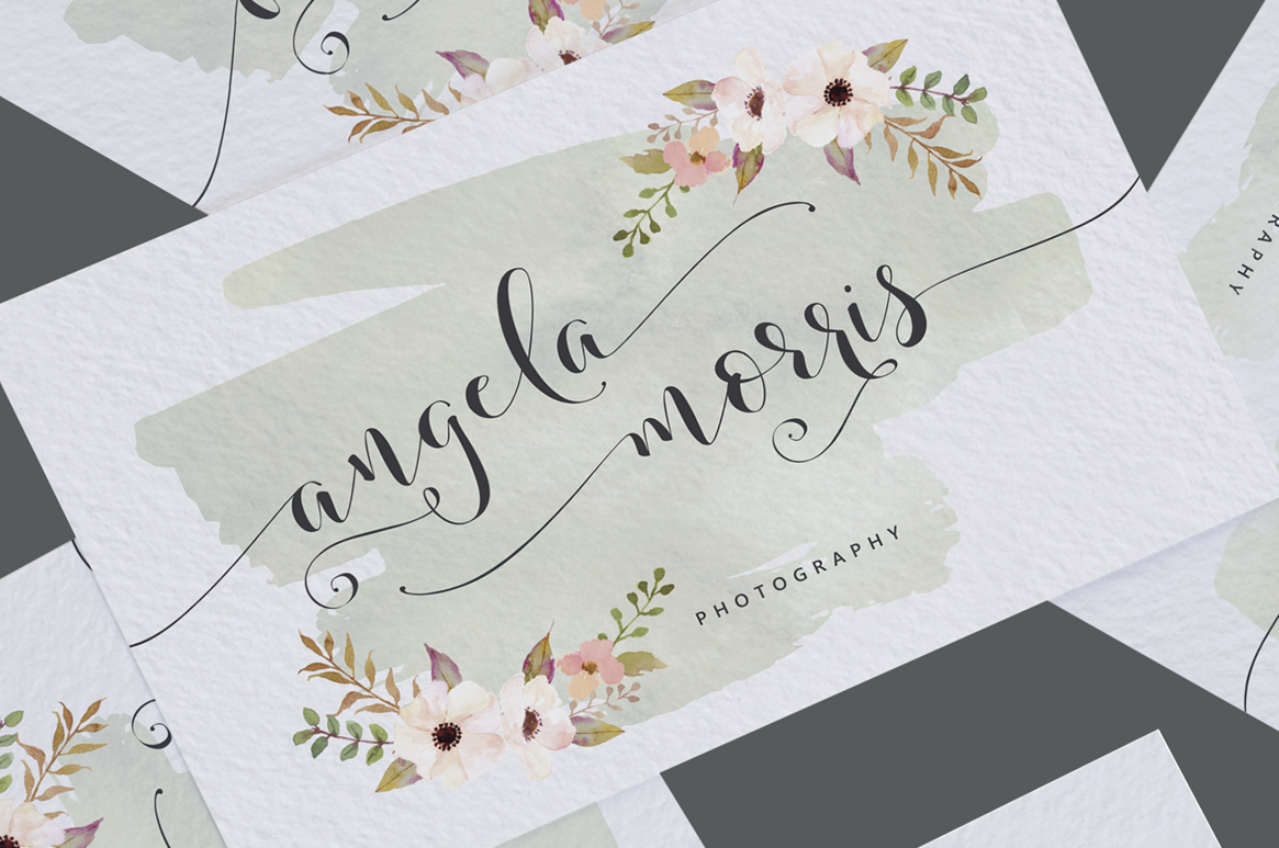 Storybook Calligraphy example image 10