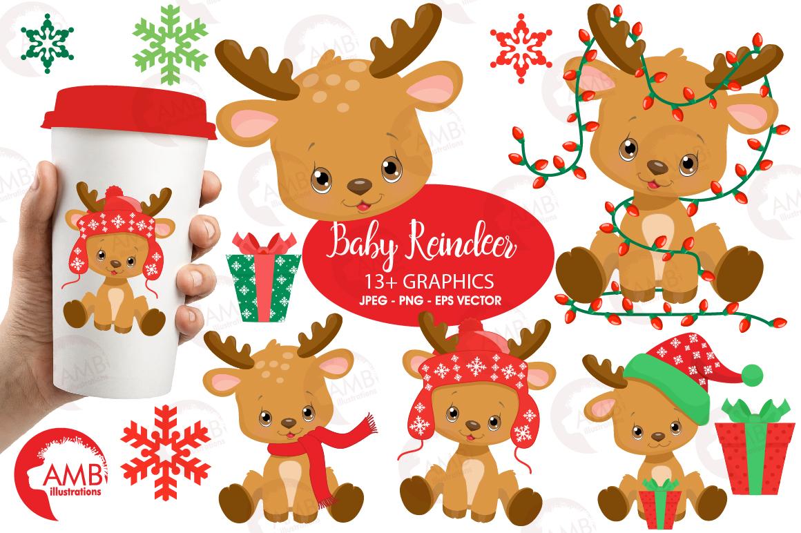 Santa's Baby Reindeer AMB-2288 example image 1