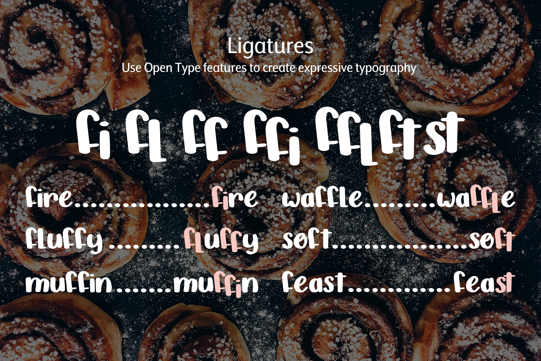 Cinnamon Bun - A sweet, handwritten font example image 7