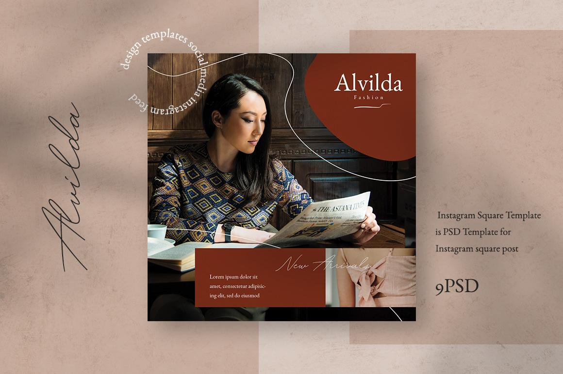 Alvida Instagram Templates example image 1