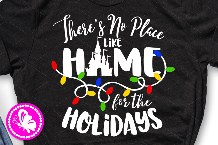 Theres no place like home for the holidays Palace Castle svg example image 1