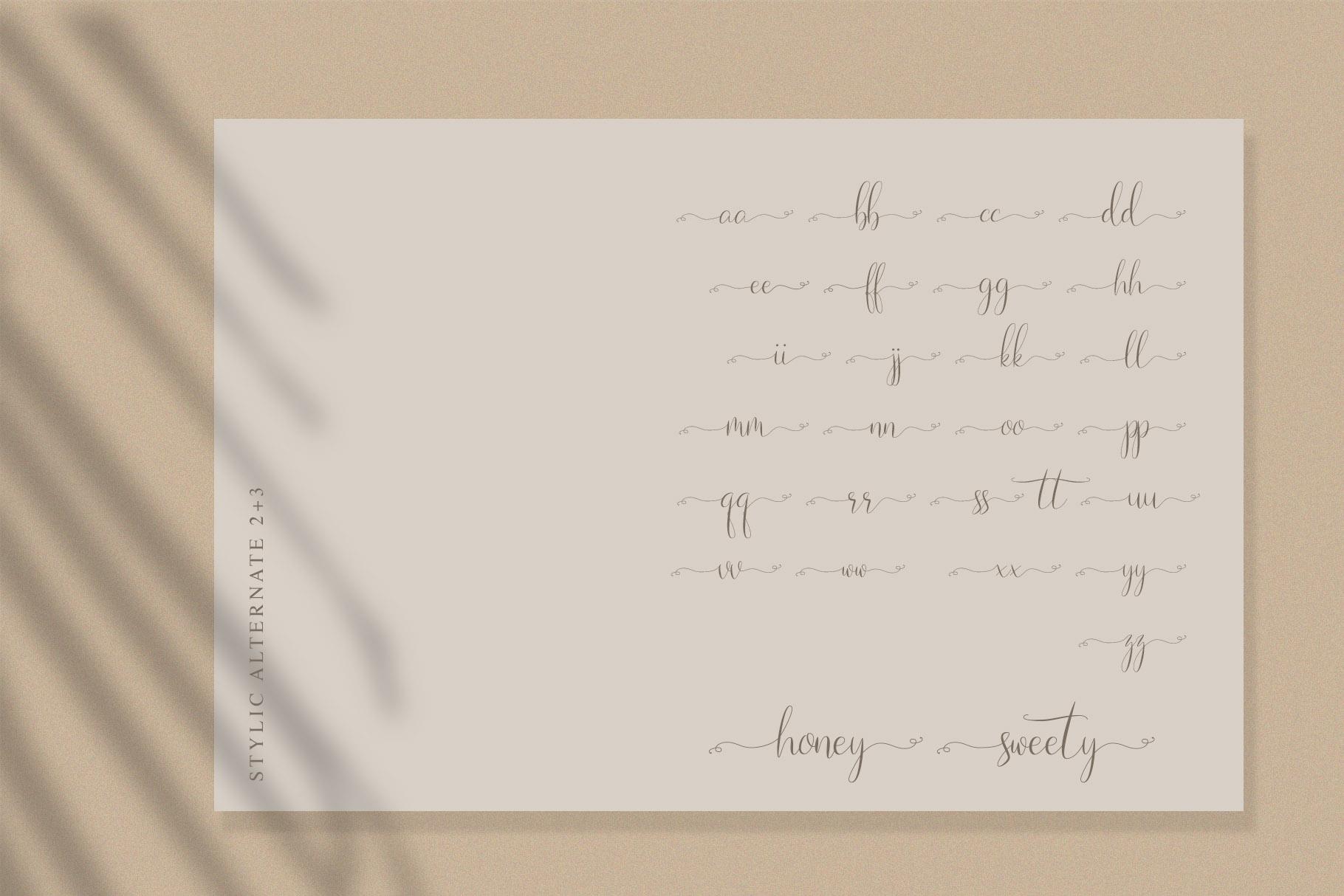 Naibacarte - Lovely Font example image 10