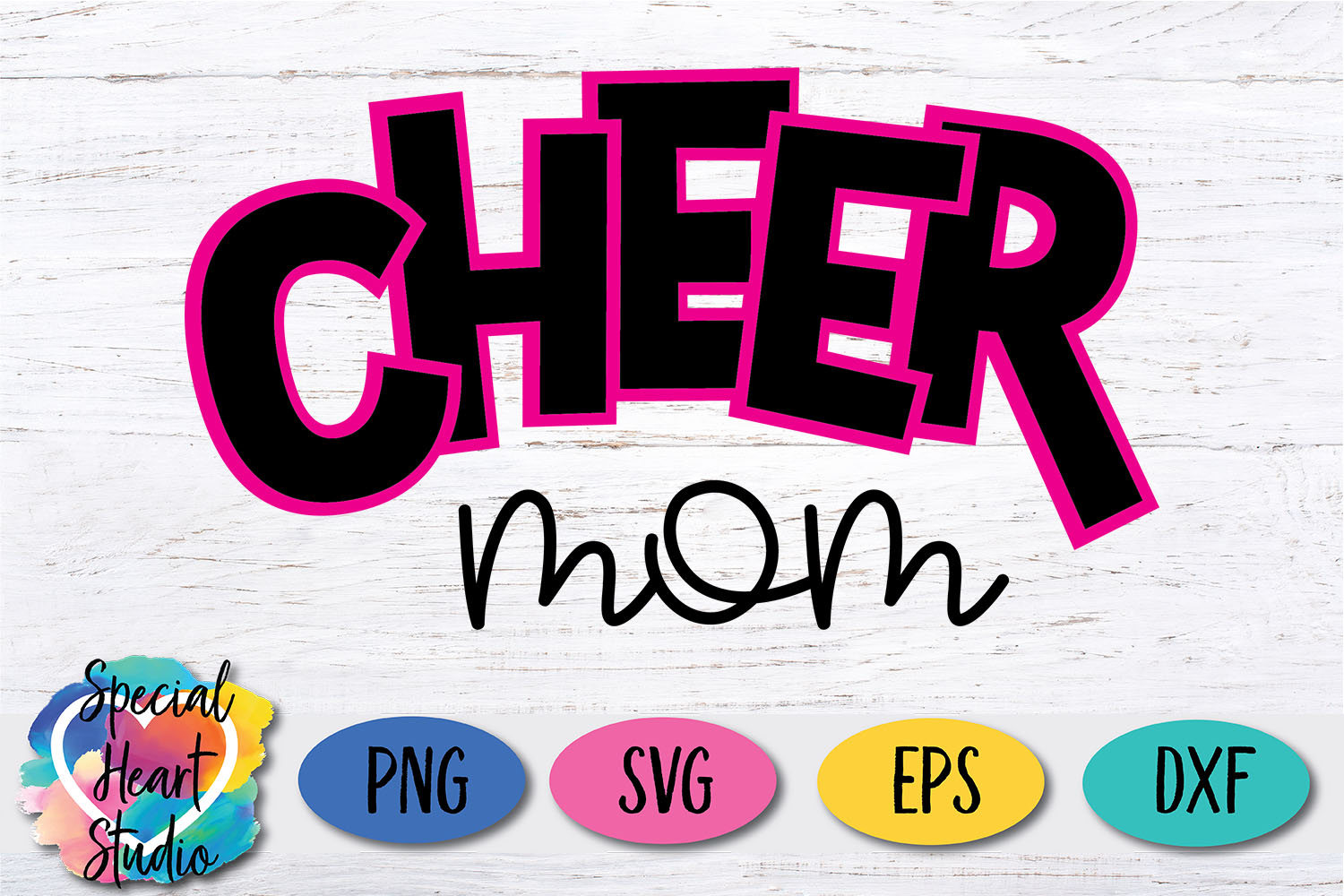 Cheer Mom SVG example image 2