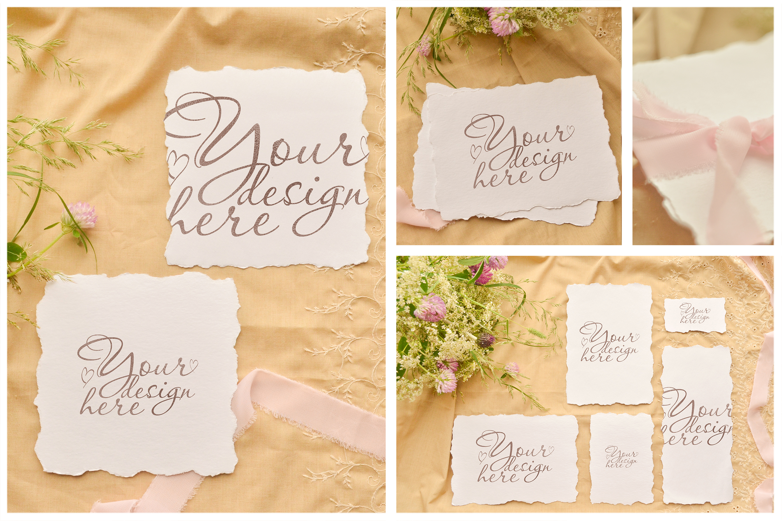 Honey Meadow. Wedding mockups & stock photo bundle example image 7