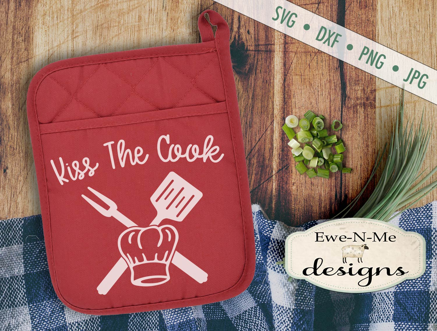 Grilling BBQ Themed Pot Holder Bundle - Fathers Day SVG example image 5