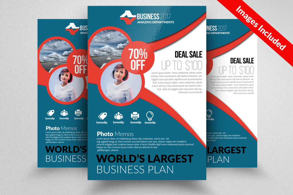 Employment Agency & Jobs Fair Flyer Template example image 1