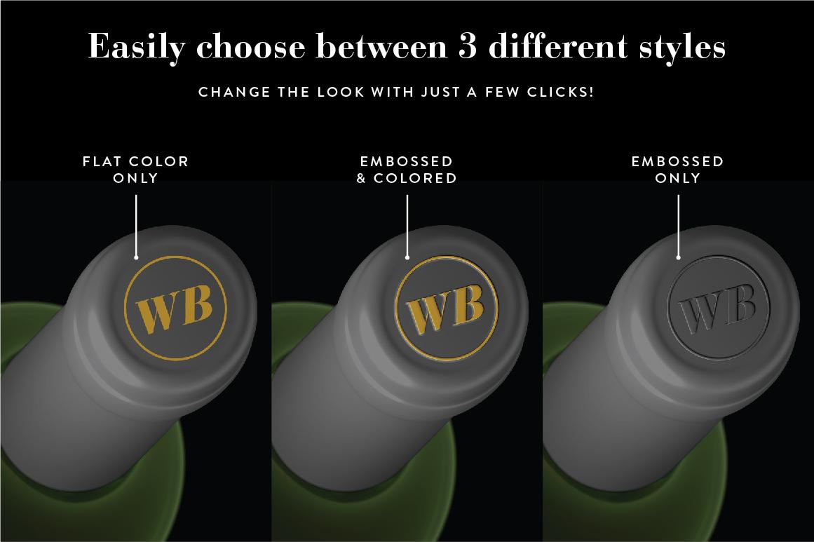 Wine Mockup Set - Photoshop PSD example image 8