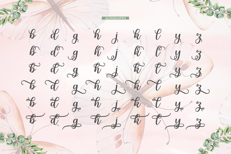 Melda Script | Modern calligraphy example image 16