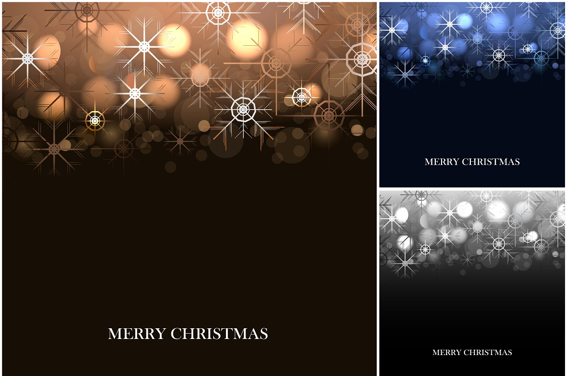 Merry Christmas Backgrounds. example image 3