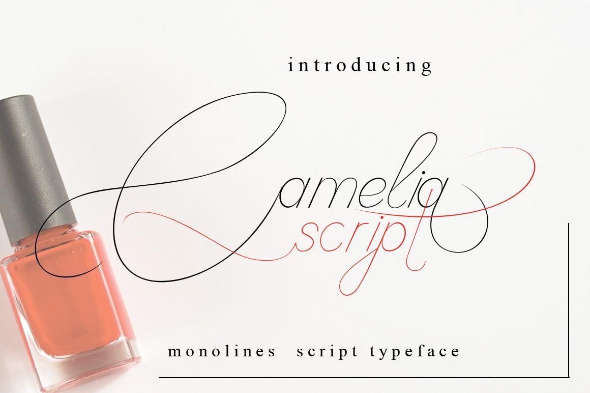 Camelia Script example image 1