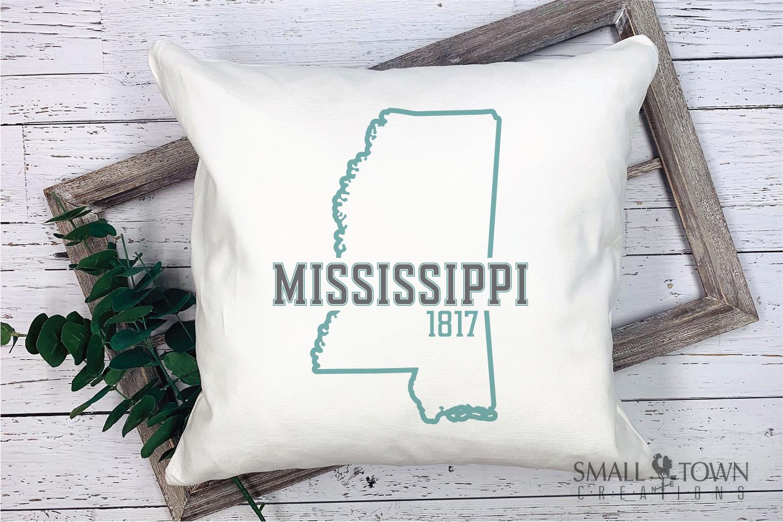 Mississippi, Hospitality state - slogan, PRINT, CUT & DESIGN example image 9