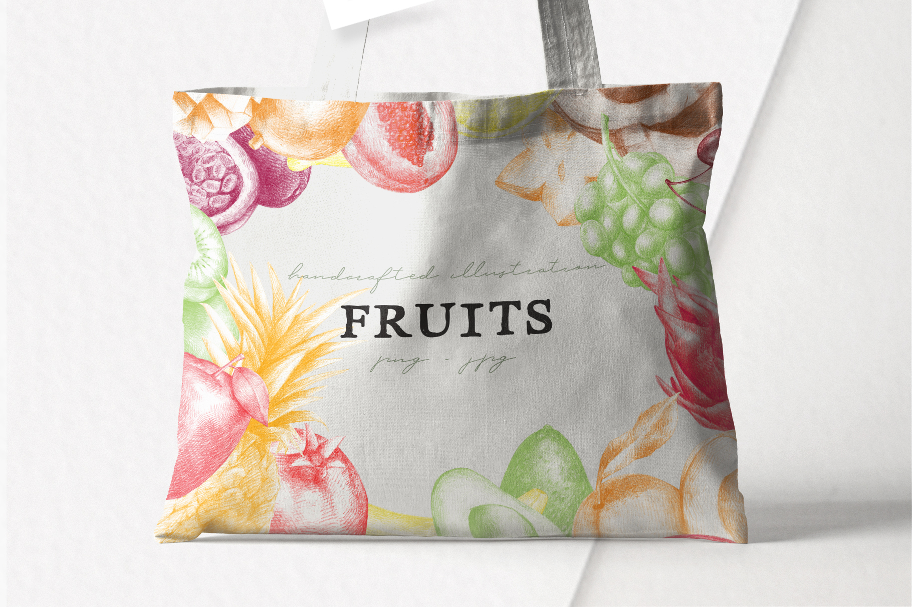 Hand drawn Fruit Collection example image 6