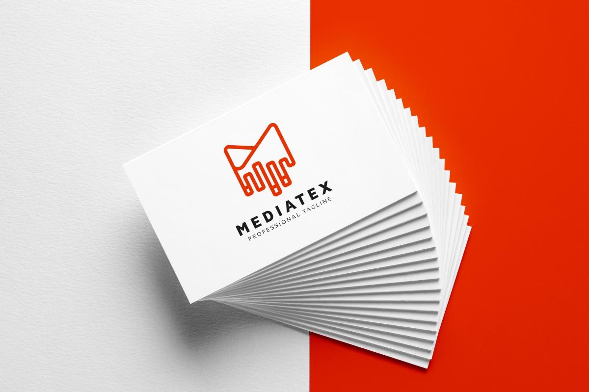 Mediatex M Letter Logo example image 5