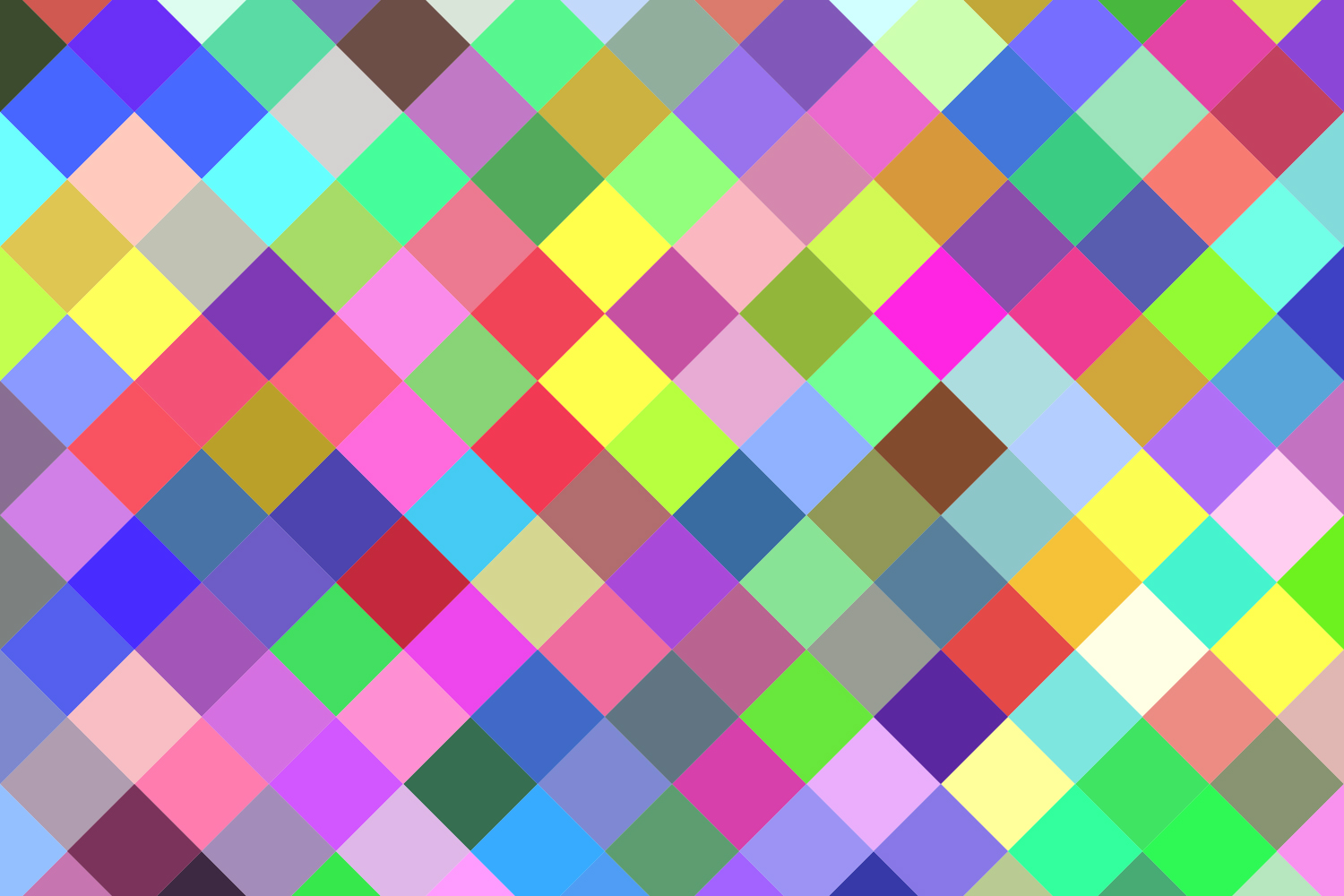 24 Multicolored Square Patterns (AI, EPS, JPG 5000x5000) example image 2