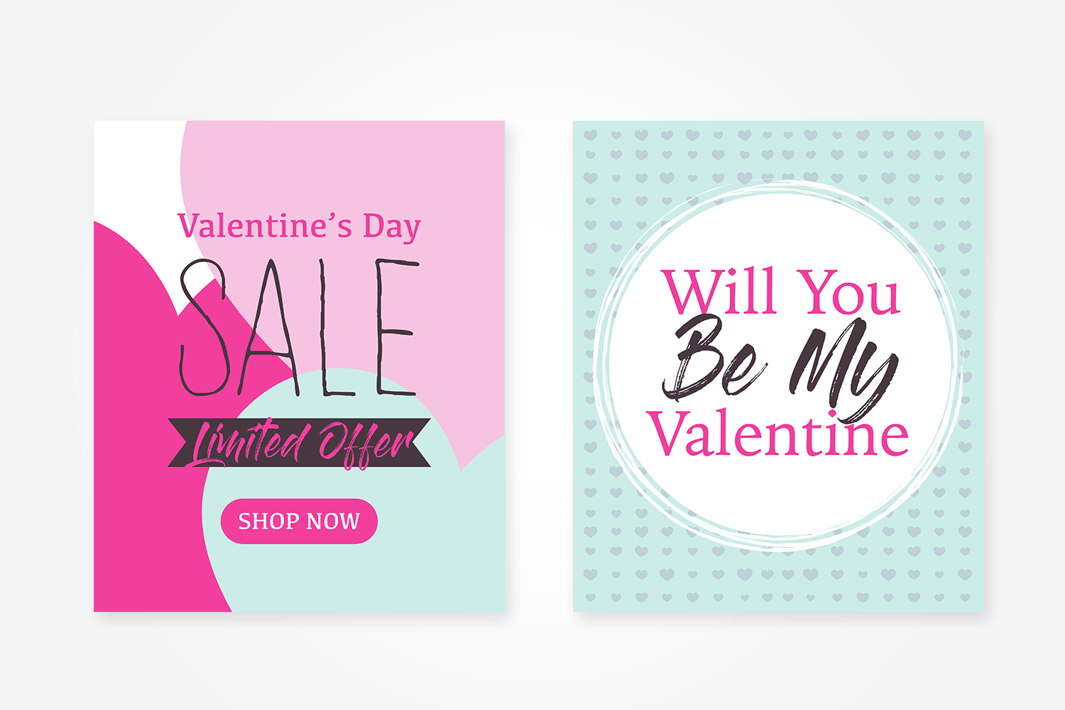 4 Valentine's Day Beautiful Card Design example image 2