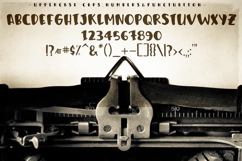 Humphrey Handwritten Font example image 6