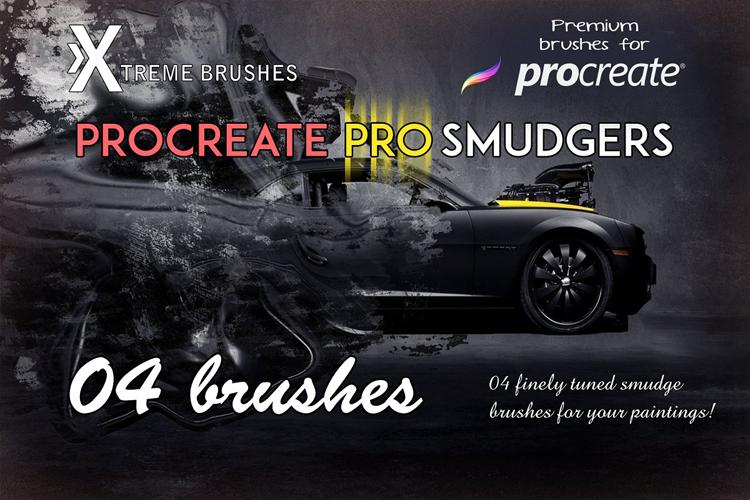 Procreate Pro Smudgers example image 1