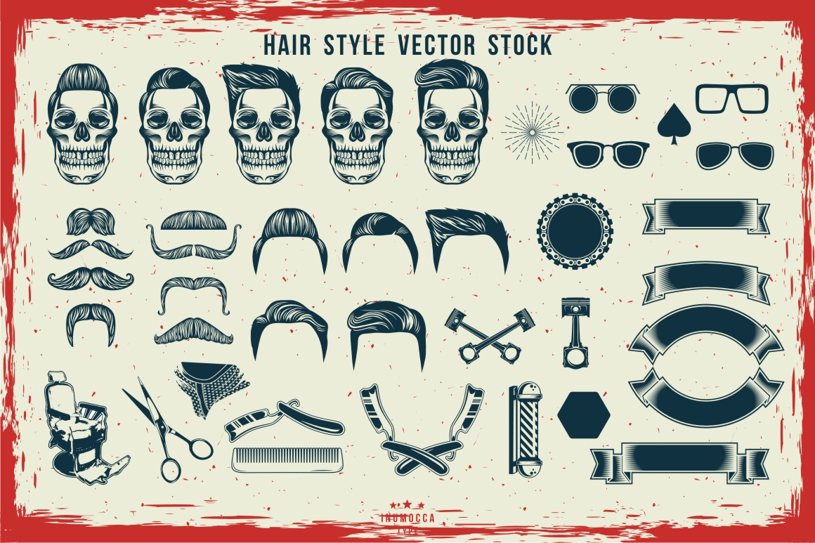 BIG BUNDLE Vintage Badges example image 22