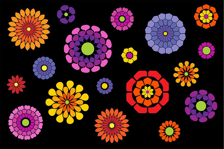 Flower Petal Brushes example image 2