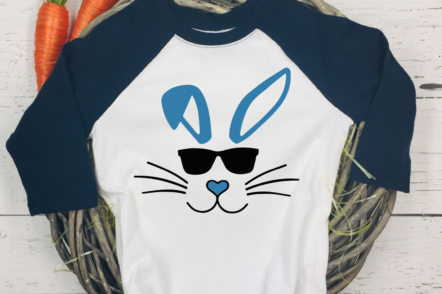 easter svg, bunny svg, easter bunny svg, bunny sunglasses example image 4