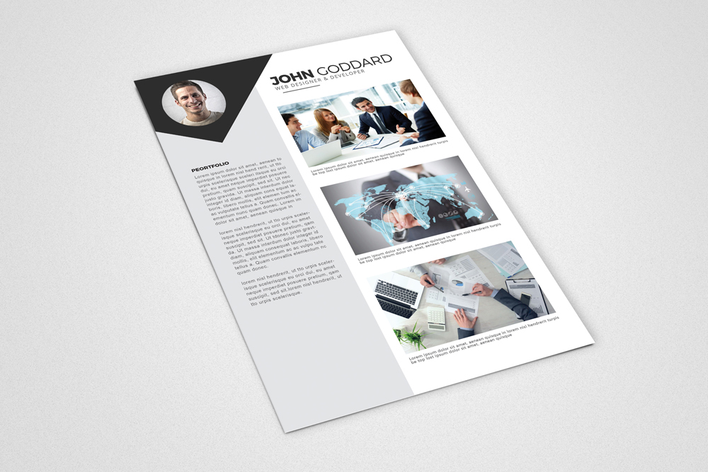 3 Pages Cv Resume Templates example image 3