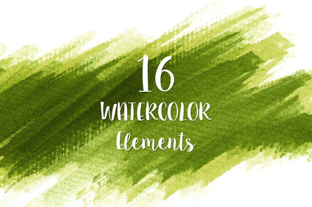 Watercolor Texture Bundle + Bonus example image 16