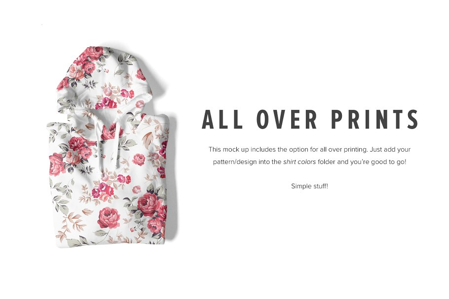 8 Premium Pullover Hoodie Mockups example image 3