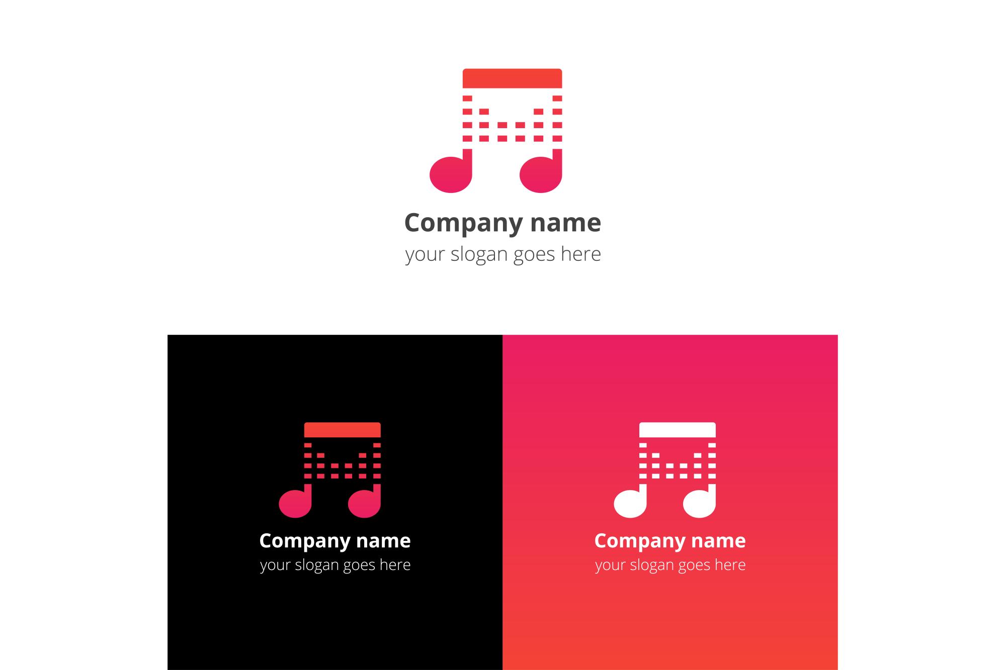 Play beats music logo example image 2