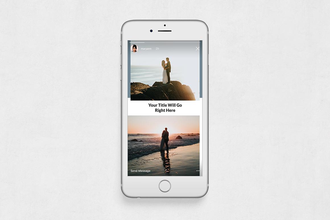 Wedding Instagram Stories example image 6