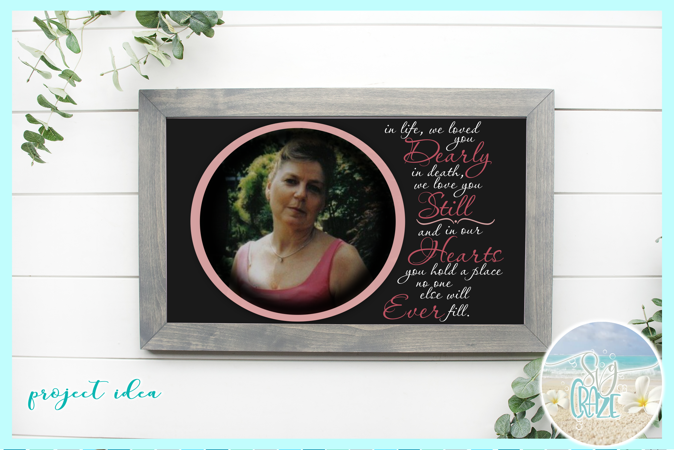 Memorial Quote Loved You Dearly Love You Still SVG example image 2