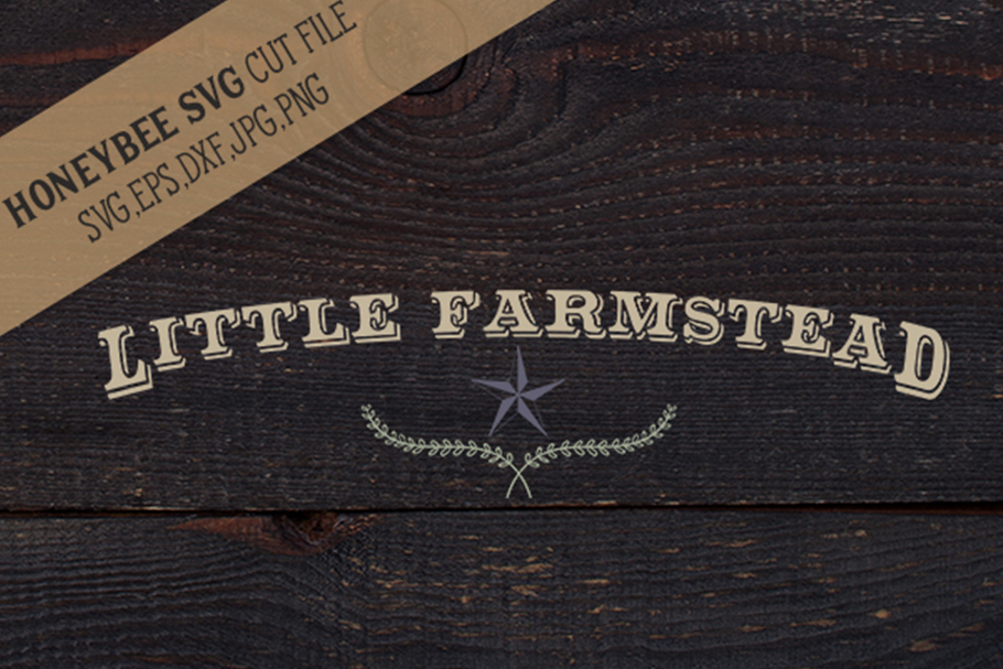 Little Farmstead svg example image 1